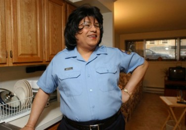 Despite hiring its first transgender cop in 2004, the Philadelphia Police Department has had a fraught relationship with the city's transgender community. Credit: AP Photo/Rich Jessica Griffin